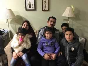 The Almahasneh family
