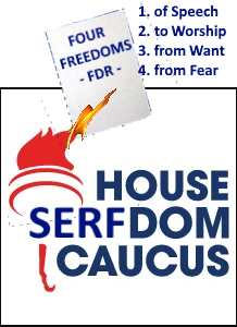 The House SERFdom Caucus logo (The Paragraph (CC BY-SA 3.0))