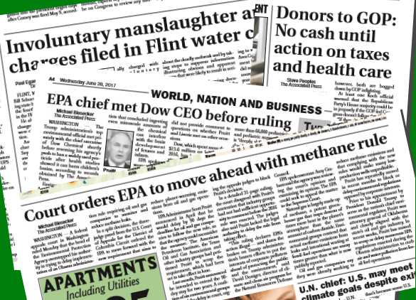 Mainstream Daily News Reports ((CC-BY) The Paragraph / The Chronicle-Telegram)