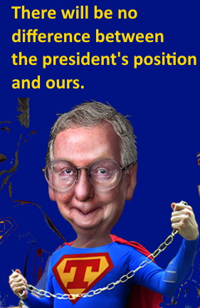 Image: Mitch McConnell on Team Trump adapted from 'Super Trumps of the RNC... even Little Marco joined the team' by DonkeyHotey on Wikimedia.org; cc-by-sa-2.0 license