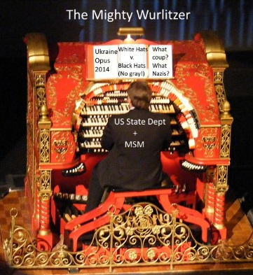 The U.S. Mighty Wurlitzer of Ukraine Propaganda (original photo by André Natta; edited by Quinn Hungeski)
