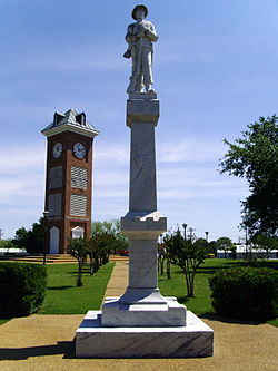 Image: Confederate Soldier Statue; Star City, Arkansas; erected 1911 (Brandonrush via Wikipedia (CC BY-SA))