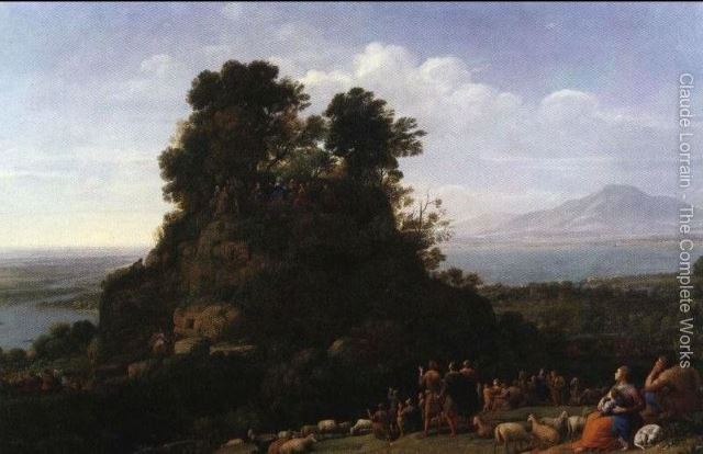 'The Sermon on the Mount' by Claude Lorrain, 1656