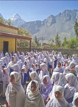 Gultori Girls' School near Skardu, Baltistan