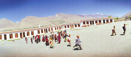 CAI's Pigish High School in the Wakhan Corridor, Afghanistan