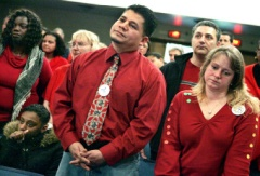 Teachers called to stand and be fired.